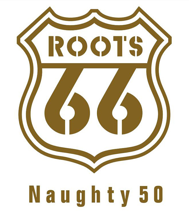 『ROOTS66-Naughty 50-』ロゴ
