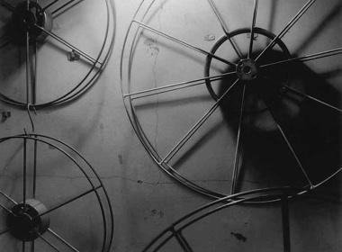 『無題』(フィルムリール) ©2015 Satoshi Chuma