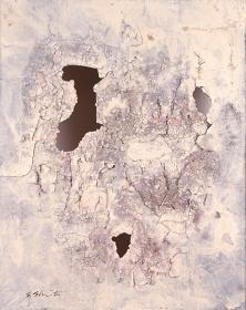 嶋本昭三『作品』1954年