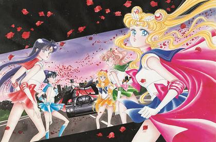 『美少女戦士セーラームーン展』展示原画 ©Naoko Takeuchi