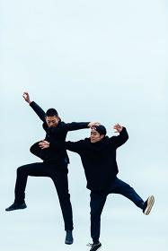 島地保武×環ROY『ありか』イメージビジュアル 撮影:後藤武浩