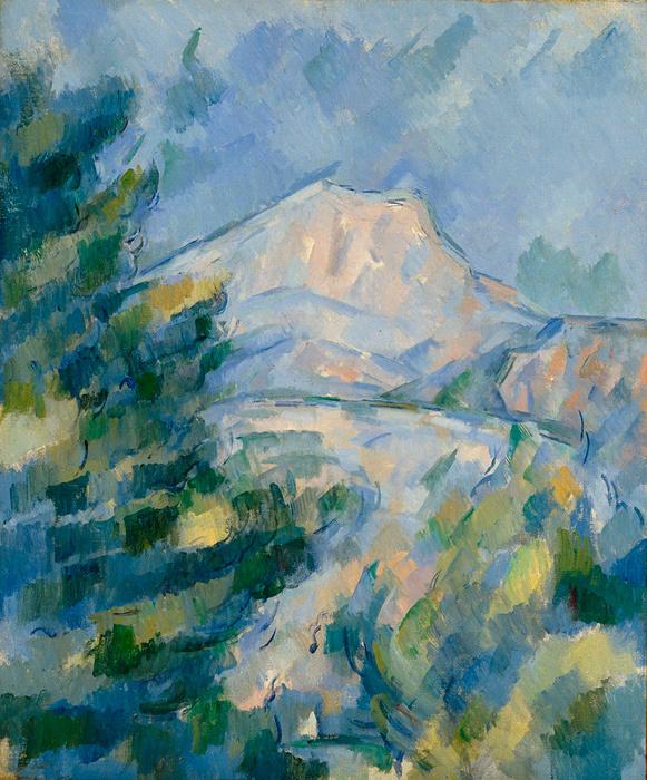 ポール・セザンヌ『サント=ヴィクトワール山』1904-1906年頃 Bequest of Robert H. Tannahill