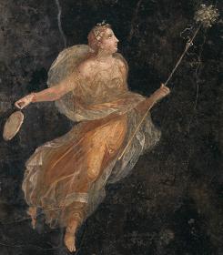 『踊るマイナス』後1世紀 ナポリ国立考古学博物館蔵 ©ARCHIVIO DELL'ARTE - Luciano Pedicini / fotografo