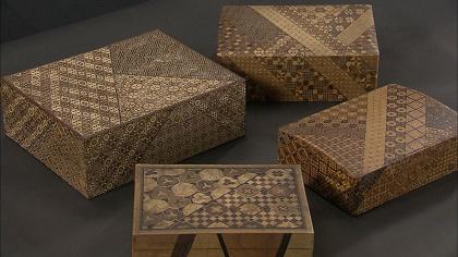 箱根の寄木細工