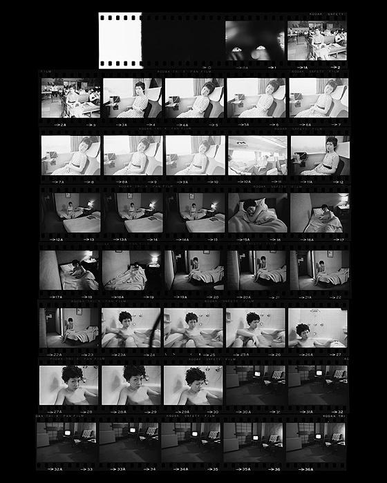 『Sentimental Journey ― The Complete Contact Sheets』, 1971/2015 ©Nobuyoshi Araki / Courtesy of amanasalto