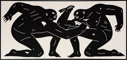 クレオン・ピーターソン『Balance of Power』2015 ©Cleon Peterson
