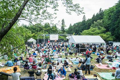 『揖斐川ワンダーピクニック』会場風景