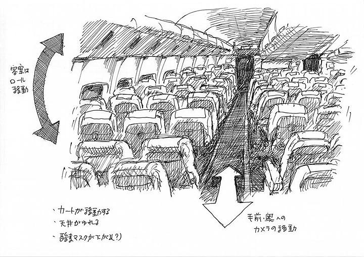 天神洋画劇場『伊藤隆介の「フィルム・スタディーズ」』新作のためのスケッチ 2016年