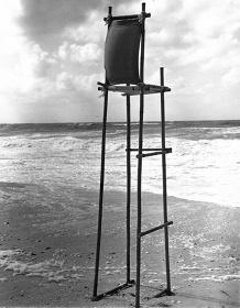 "『Sunset Chair』1976 竹、キャンバス、麻紐 h. 212 cm Photo:""Alex"" Courtesy of the artist and MISAKO & ROSEN"
