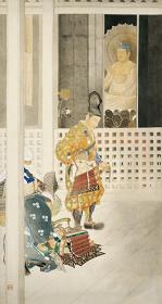 安田靫彦『吉野訣別』昭和32(1899)年頃 伊豆市所蔵