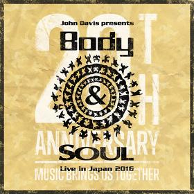 『Body&SOUL Live in Japan 2016』メインビジュアル