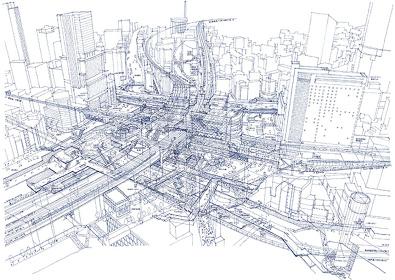 田中智之『渋谷駅解体』
