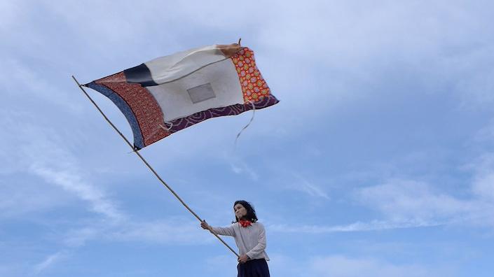 『旗の行方』2016年