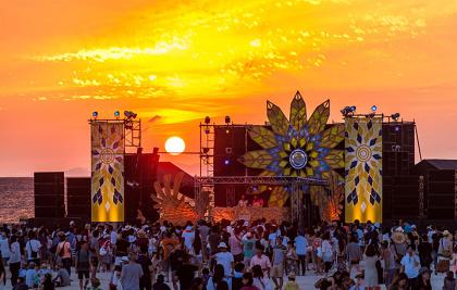『CORONA SUNSETS FESTIVAL 2016』イメージビジュアル