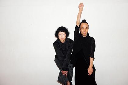 笠井叡×山田せつ子新作ダンス公演『燃え上がる耳』ビジュアル 写真:笠井爾示