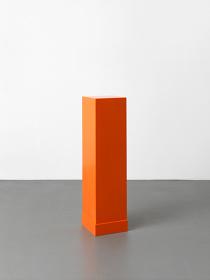 『オレンジの台座』2000年/個人蔵