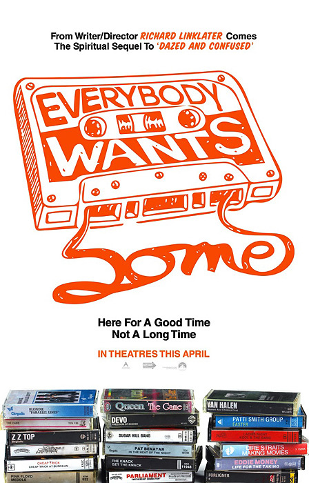 『Everybody Wants Some!!(原題)』 ©2015 PARAMOUNT PICTURES. ALL RIGHTS RESERVED