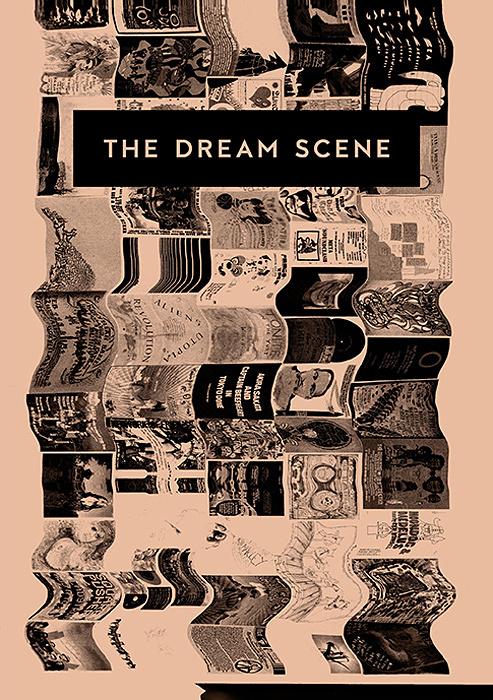 『ザ・ドリーム・シーン 夢想が生んだ架空のコンサート・フライヤー&ポスター集』表紙