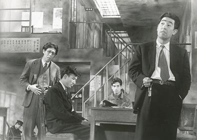 『正義派』(監督:渋谷実) ©1957 松竹株式会社