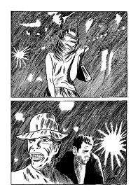『安部慎一・つげ忠男2人展』イメージビジュアル