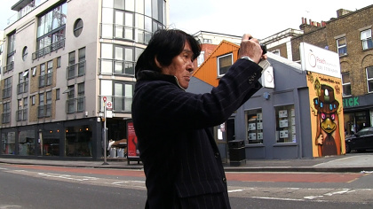 『森山大道 記録 | MOVIE IN LONDON』©Plexus