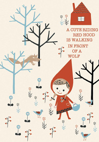 『Little Red Riding Hood』Design by ©Shinzi Katoh TM Licensed by Copyrights Asia