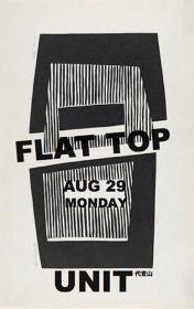『FLATTOP』メインビジュアル