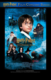 『「ハリー・ポッターと賢者の石」in コンサート』ビジュアル HARRY POTTER characters, names and related indicia are © & ™Warner Bros. Entertainment Inc. Harry Potter Publishing Rights ©JKR. (s16)