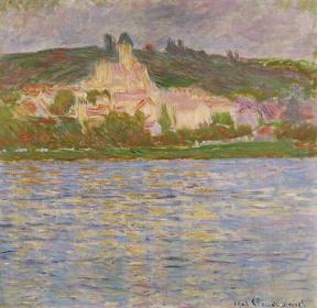クロード・モネ『ヴェトゥイユ』 1902年 国立西洋美術館蔵