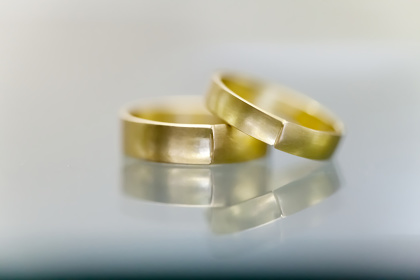 薗部悦子『marriage ring collection』イメージビジュアル