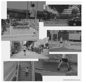 蓮沼執太『WALKING SCORE』イメージビジュアル