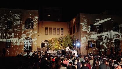 『ニュイ・ブランシュ KYOTO 2016 パリ白夜祭への架け橋 ―現代アートと過ごす夜―』イメージビジュアル