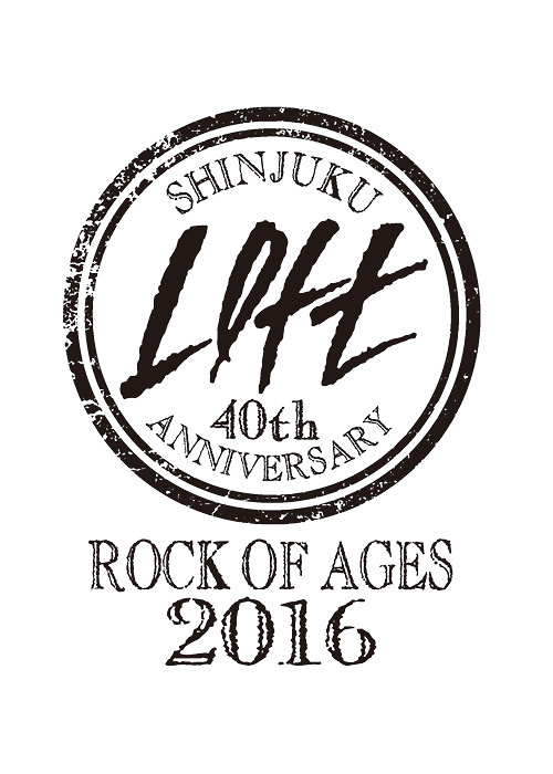 『SHINJUKU LOFT 40TH ANNIVERSARY 40YEARS×40LIVES』ロゴ