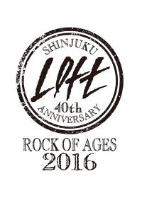 『SHINJUKU LOFT 40TH ANNIVERSARY 40YEARS×40LIVES』ロゴ
