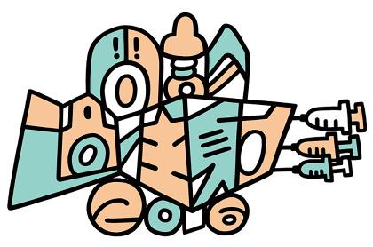 『問診過注射2016』ロゴ