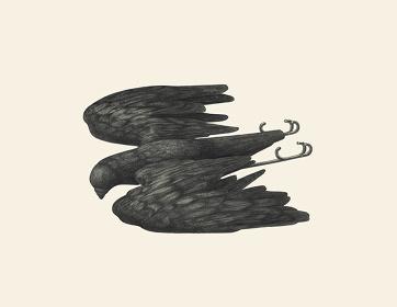 関川航平『Figure』2015年 紙、鉛筆 39.4×50.9cm