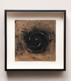 デヴィッド・リンチの絵画作品『SPIRAL』
