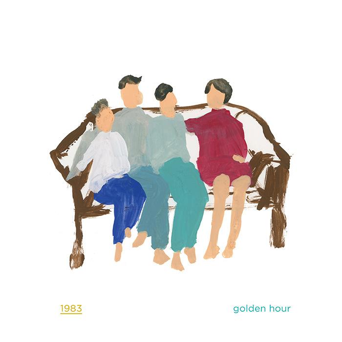 1983『golden hour』ジャケット