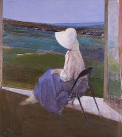 『窓辺』 1982年 個人蔵