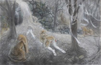 野田仁美『滝』2016
