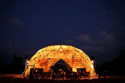 『太陽と星空のサーカス in 京都梅小路公園』イメージビジュアル