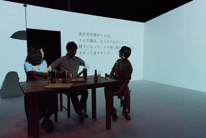 鳥公園『緑子の部屋』公演風景 撮影:塚田史子