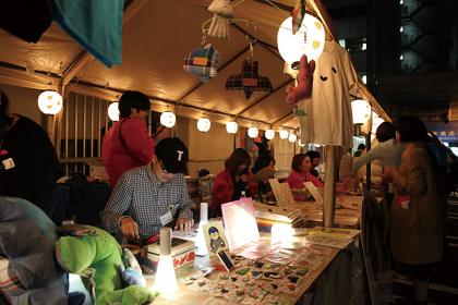 アーティスト屋台(『TRANS ARTS TOKYO 2015』より)