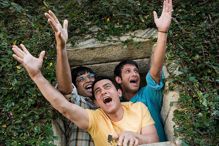 『きっと、うまくいく』 ©Vinod Chopra Films Pvt Ltd 2009. All rights reserved