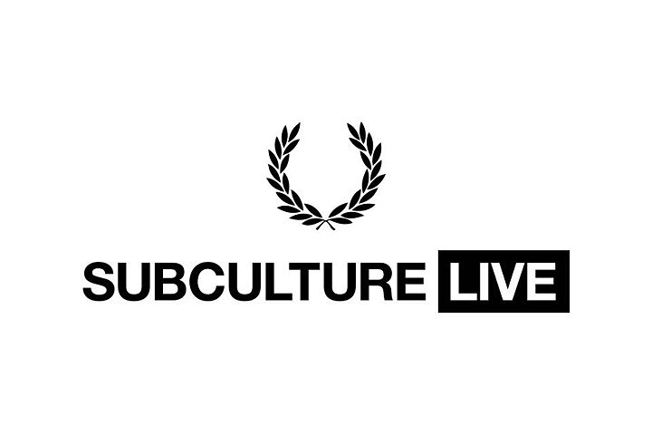 FRED PERRY presents『SUBCULTURELIVE』メインビジュアル