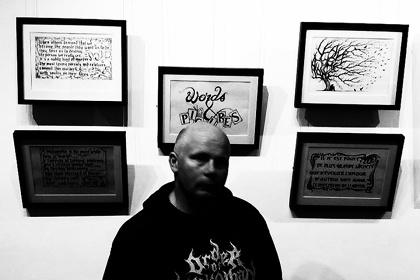 Christophe Szpajdel solo exhibition『Owakudani-The Valley of Hell』イメージビジュアル