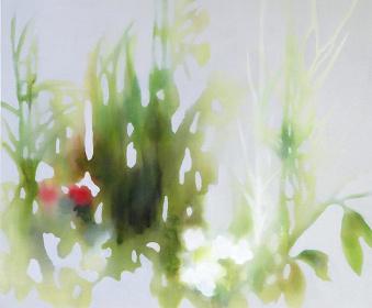 井上絢子『わたしも全く同感です。』 2016年  油彩、キャンバス © Inoue Ayako