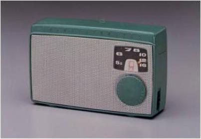 日本初のトランジスタラジオ『TR-55』(1955年)