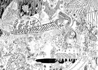 五十嵐大介『魔女 KUARUPU』 ©小学館