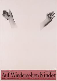 『さよなら子供たち』ポスター:オットー・クンメルト(1989年)サントリーポスターコレクション(大阪新美術館建設準備室寄託)